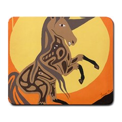 Embracing The Moon Large Mouse Pad (Rectangle)
