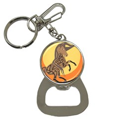 Embracing The Moon Bottle Opener Key Chain