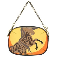 Embracing The Moon Chain Purse (Two Sided)