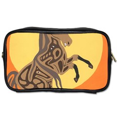 Embracing The Moon Travel Toiletry Bag (Two Sides)
