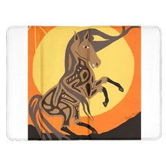 Embracing The Moon Kindle Fire Flip Case