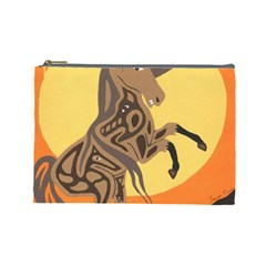 Embracing The Moon Copy Cosmetic Bag (large)