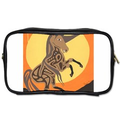 Embracing The Moon Copy Travel Toiletry Bag (One Side)