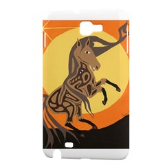 Embracing The Moon Copy Samsung Galaxy Note 1 Hardshell Case