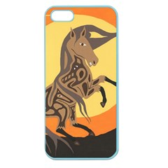 Embracing The Moon Copy Apple Seamless Iphone 5 Case (color)