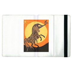 Embracing The Moon Copy Apple iPad 2 Flip Case