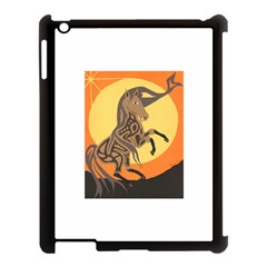 Embracing The Moon Copy Apple iPad 3/4 Case (Black)