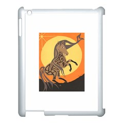 Embracing The Moon Copy Apple iPad 3/4 Case (White)