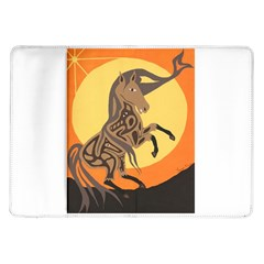 Embracing The Moon Copy Samsung Galaxy Tab 10.1  P7500 Flip Case