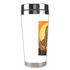 Embracing The Moon Copy Stainless Steel Travel Tumbler