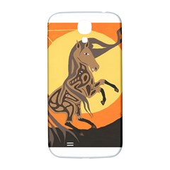 Embracing The Moon Copy Samsung Galaxy S4 I9500/I9505  Hardshell Back Case