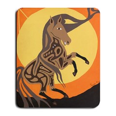 Embracing The Moon Copy Large Mouse Pad (Rectangle)