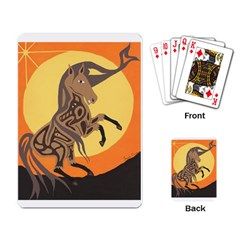 Embracing The Moon Copy Playing Cards Single Design