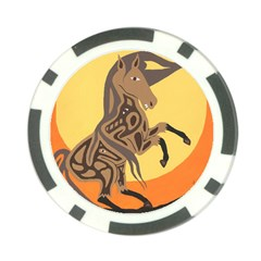 Embracing The Moon Copy Poker Chip