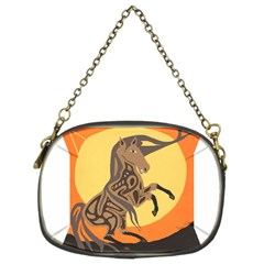 Embracing The Moon Copy Chain Purse (two Sided)