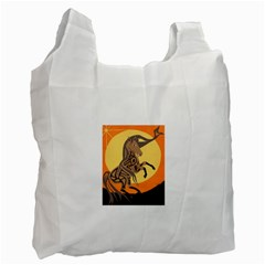 Embracing The Moon Copy Recycle Bag (Two Sides)