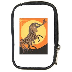Embracing The Moon Copy Compact Camera Leather Case