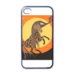 Embracing The Moon Copy Apple Iphone 4 Case (black)