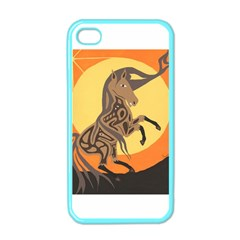 Embracing The Moon Copy Apple Iphone 4 Case (color)