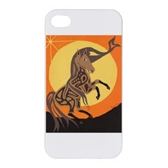 Embracing The Moon Copy Apple Iphone 4/4s Hardshell Case
