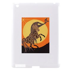 Embracing The Moon Copy Apple Ipad 3/4 Hardshell Case (compatible With Smart Cover)
