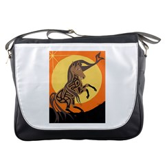 Embracing The Moon Copy Messenger Bag