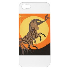 Embracing The Moon Copy Apple iPhone 5 Hardshell Case