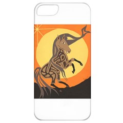 Embracing The Moon Copy Apple iPhone 5 Classic Hardshell Case