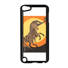 Embracing The Moon Copy Apple iPod Touch 5 Case (Black)