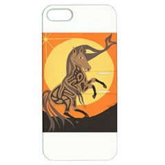 Embracing The Moon Copy Apple iPhone 5 Hardshell Case with Stand