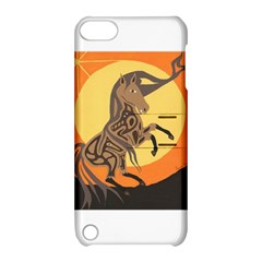 Embracing The Moon Copy Apple iPod Touch 5 Hardshell Case with Stand