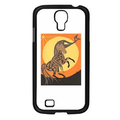 Embracing The Moon Copy Samsung Galaxy S4 I9500/ I9505 Case (Black)