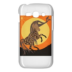 Embracing The Moon Copy Samsung Galaxy Ace 3 S7272 Hardshell Case