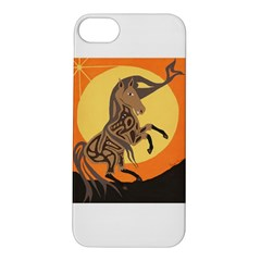 Embracing The Moon Copy Apple iPhone 5S Hardshell Case