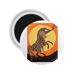Embracing The Moon Copy 2 25  Button Magnet