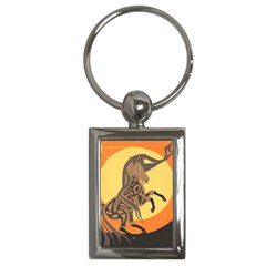 Embracing The Moon Copy Key Chain (Rectangle)