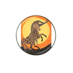 Embracing The Moon Copy Golf Ball Marker (for Hat Clip)