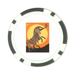 Embracing The Moon Copy Poker Chip (10 Pack)