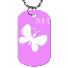 Mom Dog Tag (Two-sided)