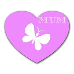 Mom Mouse Pad (Heart)