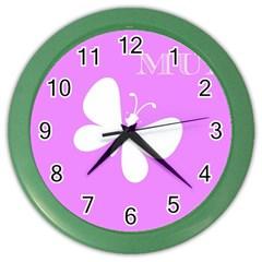 Mom Wall Clock (Color)