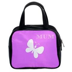 Mom Classic Handbag (two Sides)
