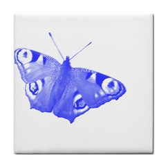 Decorative Blue Butterfly Ceramic Tile