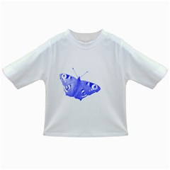 Decorative Blue Butterfly Baby T-shirt
