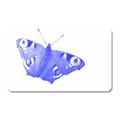 Decorative Blue Butterfly Magnet (Rectangular)