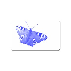 Decorative Blue Butterfly Magnet (Name Card)