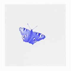 Decorative Blue Butterfly Glasses Cloth (Medium, Two Sided)