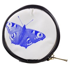 Decorative Blue Butterfly Mini Makeup Case