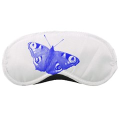 Decorative Blue Butterfly Sleeping Mask