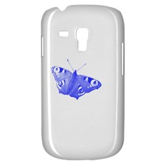 Decorative Blue Butterfly Samsung Galaxy S3 MINI I8190 Hardshell Case